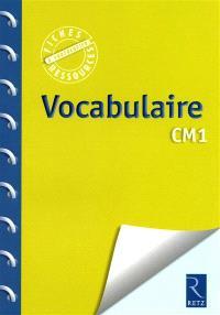 Vocabulaire CM1