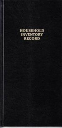 ROBERT FRANK HOUSEHOLD INVENTORY RECORD /ANGLAIS