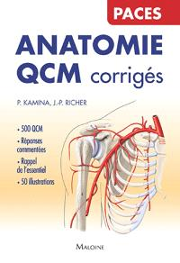 Anatomie QCM corrigés : PACES