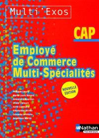 Employé de commerce multi-spécialités : CAP