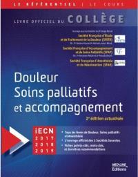 Douleur, soins palliatifs et accompagnement : iECN 2017-2018-2019