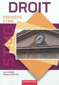 Droit : première STMG