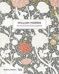 WILLIAM MORRIS & CO AN ARTS & CRAFTS COLOURING BOOK /ANGLAIS