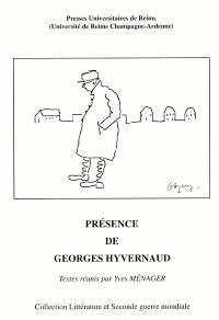 Présence de Georges Hyvernaud : actes de colloque international, Reims, 27 au 29 mai 1999