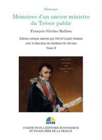 Mémoires d'un ancien ministre du Trésor public. Volume 2