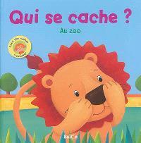 Qui se cache ? : au zoo