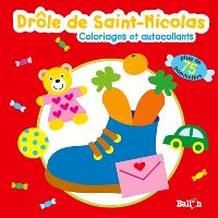 Drôle de Saint-Nicolas : coloriages et autocollants
