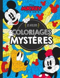 Mickey et ses amis : coloriages mystères