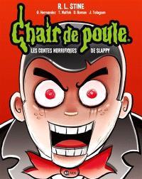Chair de poule : les contes horrifiques de Slappy : la BD