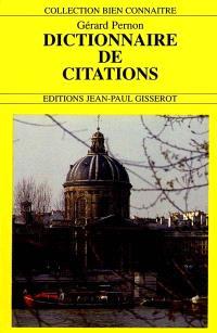 Le dictionnaire de citations