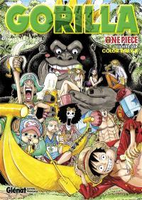 One piece : color walk. Volume 6, Gorilla