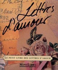 Le petit livre des lettres d'amour