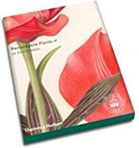 REMARKABLE PLANTS 30 POSTCARDS /ANGLAIS