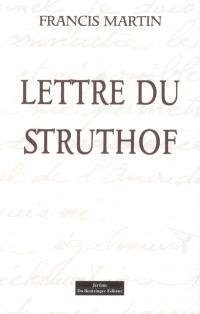 Lettre du Struthof