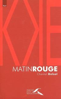 Matin rouge