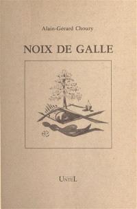 Noix de Galle