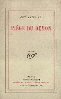 Piège du démon