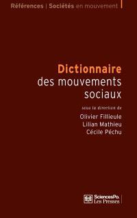 Dictionnaire des mouvements sociaux