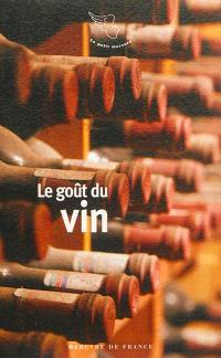 Le goût du vin