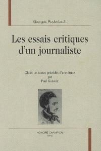 Les essais critiques d'un journaliste