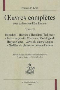 Oeuvres complètes. Volume 6