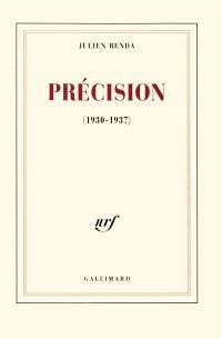 Précision : 1930-1937