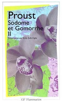 Sodome et Gomorrhe. Volume 2
