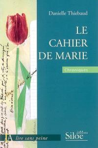 Le cahier de Marie