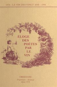 Eloge des poètes par le vin