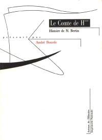 Histoire de M. Bertin, marquis de Fratteaux