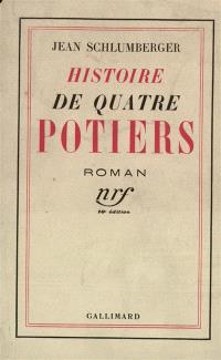 Histoire de quatre potiers