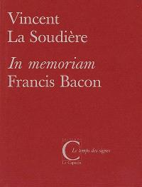 In memoriam Francis Bacon