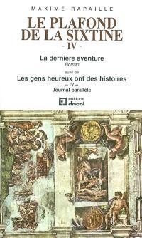 Le plafond de la Sixtine. Volume 4