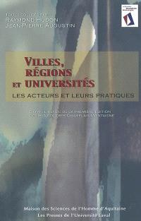 Villes, régions et universités  : les acteurs et leurs pratiques : compte rendu de la première édition des Rencontres Champlain-Montaigne, Québec, 3-5 octobre 2001