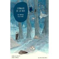L'imagier de la nuit des animaux de la forêt