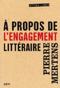 À propos de l'engagement littéraire