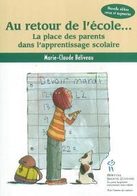 Au retour de l'école  : la place des parents dans l'apprentissage scolaire