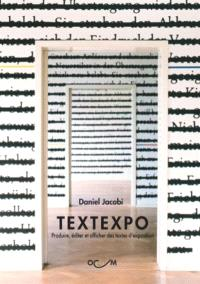Textexpo : produire, éditer et afficher des textes d'exposition