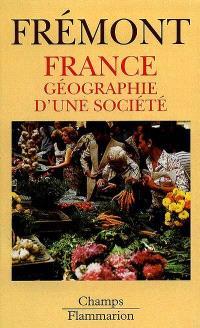 France : géographie d'une société