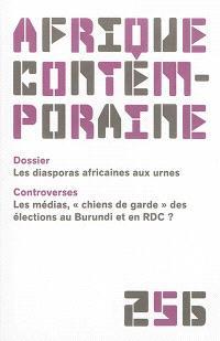 Afrique contemporaine. n° 256, Les diasporas africaines aux urnes