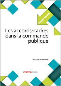 Les accords-cadres dans la commande publique