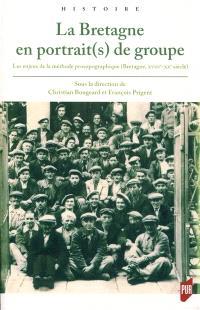 La Bretagne en portrait(s) de groupe : les enjeux de la méthode prosopographique (Bretagne, XVIIIe-XXe siècle)
