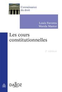 Les cours constitutionnelles