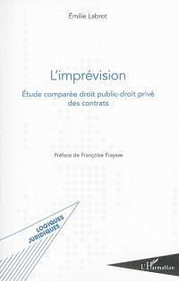L'imprévision : étude comparée droit public-droit privé des contrats