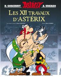Une aventure d'Astérix, Les XII travaux d'Astérix