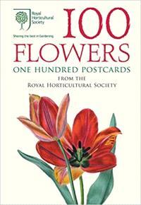100 FLOWERS, ONE HUNDRED POSTCARDS /ANGLAIS