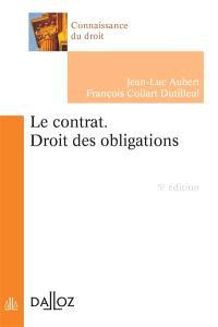 Le contrat : droit des obligations