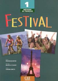 Festival 1, méthode de français