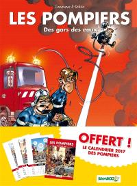 Les pompiers : pack tome 1 + calendrier