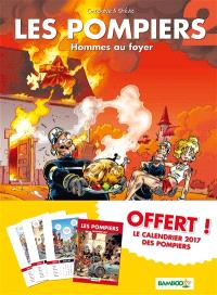 Les pompiers : pack tome 2 + calendrier